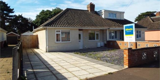 Guide Price £240,000, 3 Bedroom Semi Detached Bungalow For Sale in Norwich, NR6