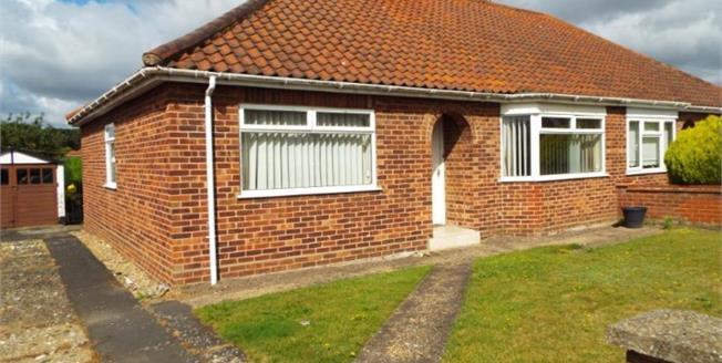 £210,000, 3 Bedroom Semi Detached Bungalow For Sale in Norwich, NR6