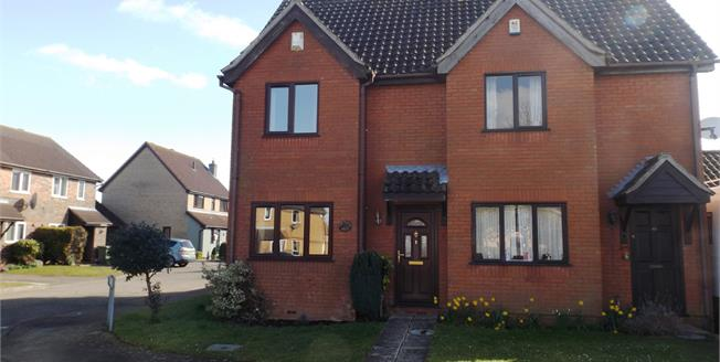Offers in excess of £160,000, 2 Bedroom Semi Detached House For Sale in Attleborough, NR17