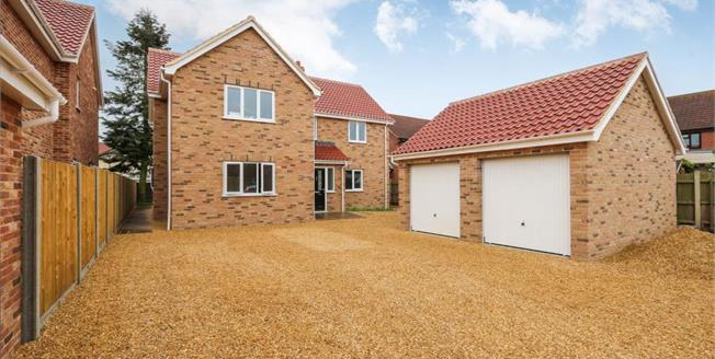 Offers in excess of £425,000, 4 Bedroom Detached House For Sale in Norfolk, NR17