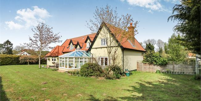 Guide Price £545,000, 5 Bedroom Detached House For Sale in Larling, NR16
