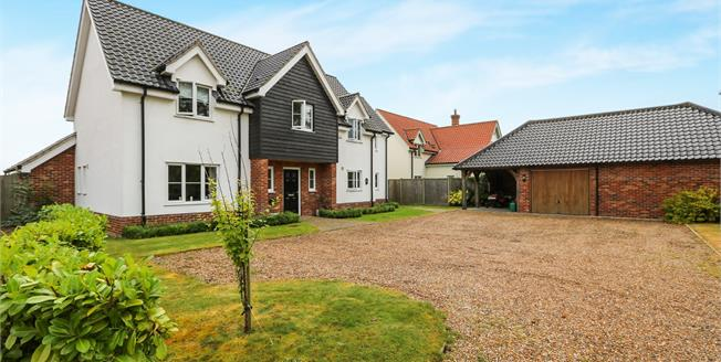 Offers in excess of £525,000, 5 Bedroom Detached House For Sale in Bunwell, NR16