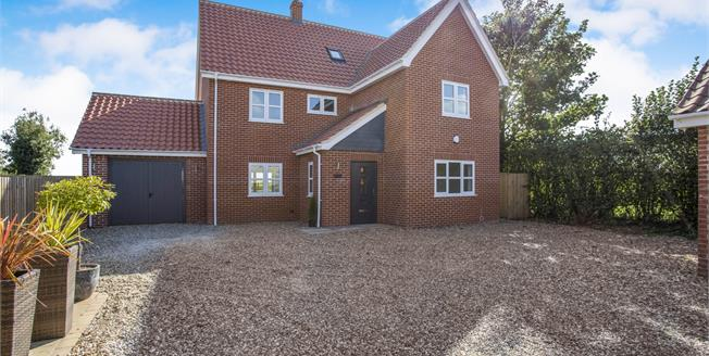 Guide Price £475,000, 5 Bedroom Detached House For Sale in Rockland St. Peter, NR17