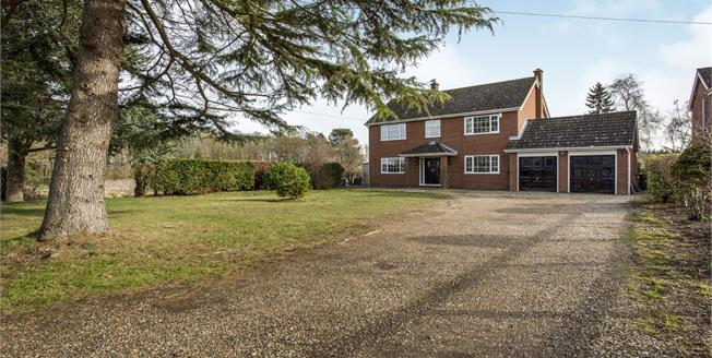 Guide Price £450,000, 4 Bedroom Detached House For Sale in Eccles, NR16