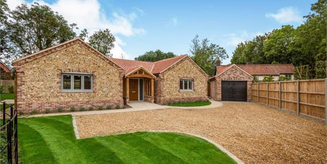 Guide Price £425,000, 3 Bedroom Detached Bungalow For Sale in Attleborough, NR17