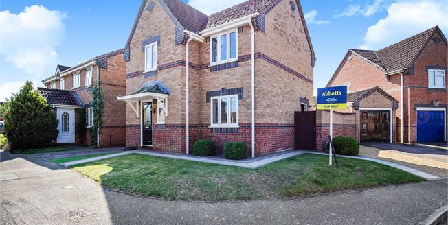 Offers in excess of £240,000, 3 Bedroom Detached House For Sale in Attleborough, NR17