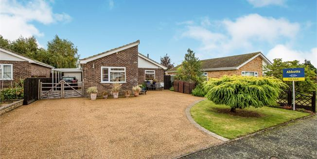 Guide Price £280,000, 2 Bedroom Detached Bungalow For Sale in Attleborough, NR17
