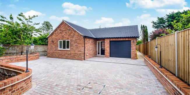 Guide Price £425,000, 3 Bedroom Detached Bungalow For Sale in Suffolk, NR34