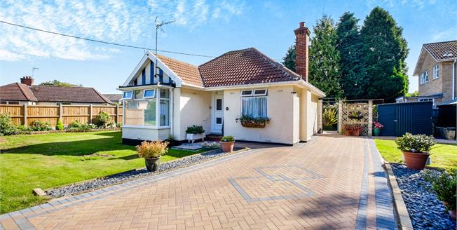 Offers Over £260,000, 2 Bedroom Detached Bungalow For Sale in Worlingham, NR34