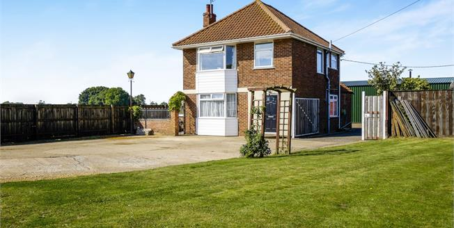 Offers Over £290,000, 3 Bedroom Detached House For Sale in Brampton, NR34