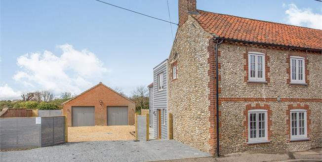 Offers in excess of £500,000, 3 Bedroom Semi Detached Cottage For Sale in North Creake, NR21