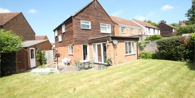 Offers in the region of £430,000, 3 Bedroom Detached House For Sale in Farningham, DA4