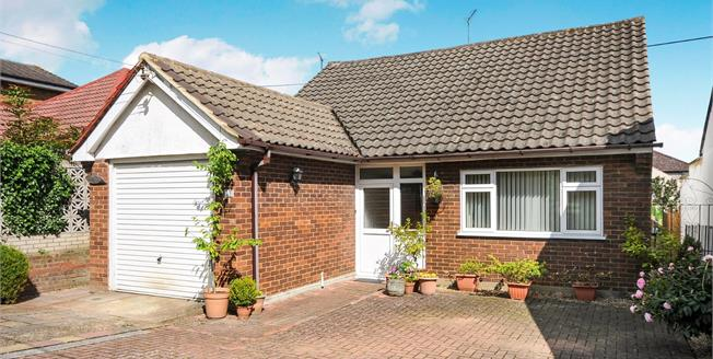 Asking Price £390,000, 2 Bedroom Detached Bungalow For Sale in Swanley, BR8
