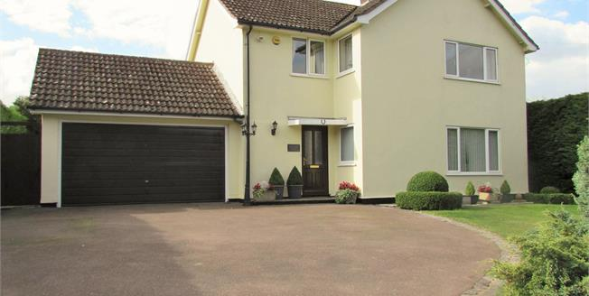 Offers in excess of £450,000, 4 Bedroom Detached House For Sale in Hargrave, IP29