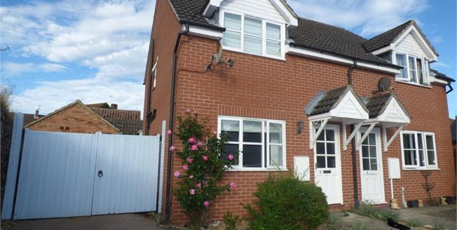Guide Price £250,000, 3 Bedroom Semi Detached House For Sale in Ixworth, IP31
