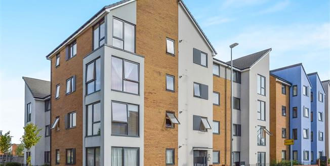 Asking Price £210,000, 2 Bedroom Flat For Sale in Broughton, MK10