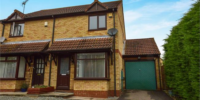 Offers Over £257,000, 2 Bedroom Semi Detached House For Sale in Walnut Tree, MK7