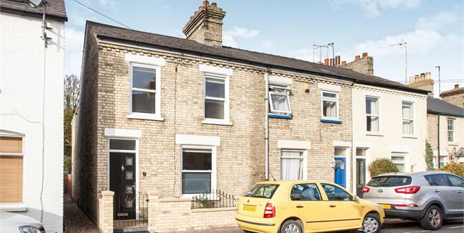 Guide Price £500,000, 3 Bedroom End of Terrace House For Sale in Cambridge, CB1