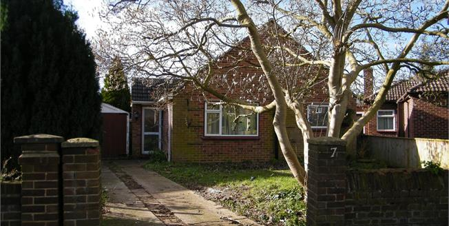Guide Price £350,000, 2 Bedroom Detached Bungalow For Sale in Cambridge, CB4