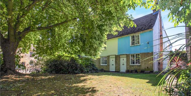 Guide Price £500,000, 3 Bedroom End of Terrace Cottage For Sale in Cambridge, CB3