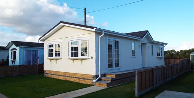 Offers in excess of £150,000, 2 Bedroom Mobile Home For Sale in Longstanton, CB24