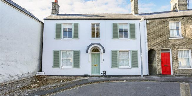 Guide Price £765,000, 4 Bedroom End of Terrace House For Sale in Cambridge, CB4