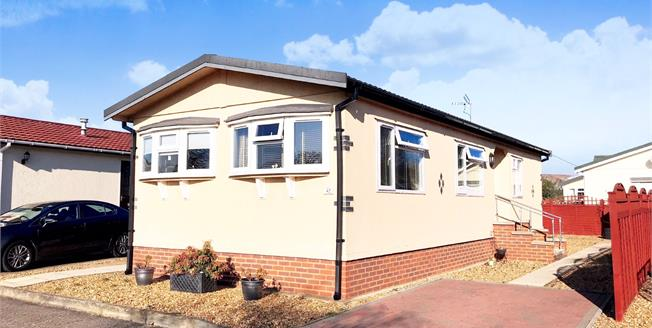 Guide Price £120,000, 1 Bedroom Mobile Home For Sale in Waterbeach, CB25