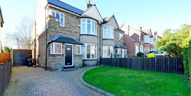Asking Price £399,950, 4 Bedroom Semi Detached House For Sale in Sheffield, S7