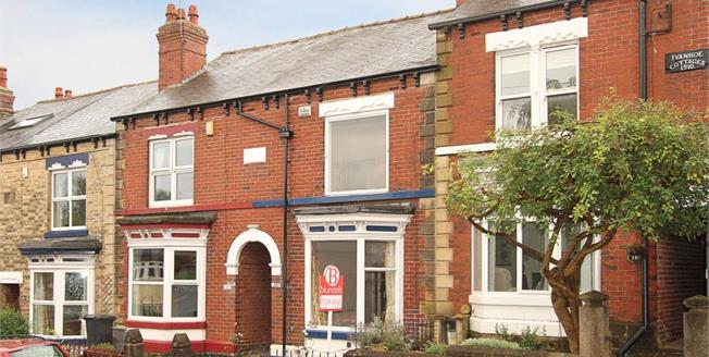 Guide Price £230,000, 3 Bedroom Terraced House For Sale in Sheffield, S10