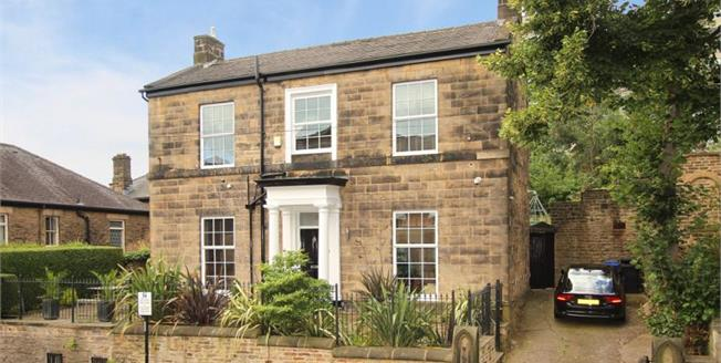 £595,000, 4 Bedroom Detached House For Sale in Sheffield, S10