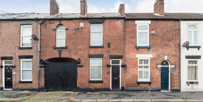 Guide Price £140,000, 3 Bedroom Terraced House For Sale in Sheffield, S11