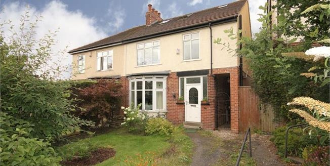 Guide Price £430,000, 4 Bedroom Semi Detached House For Sale in Sheffield, S10