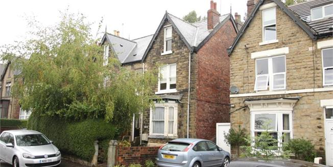 Guide Price £185,000, 3 Bedroom Semi Detached House For Sale in Sheffield, S7