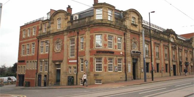 Guide Price £120,000, 1 Bedroom Upper Floor Flat For Sale in Sheffield, S3
