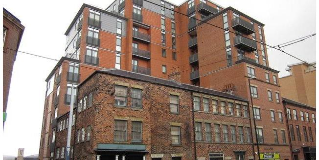 £110,000, 1 Bedroom Upper Floor Flat For Sale in Sheffield, S1