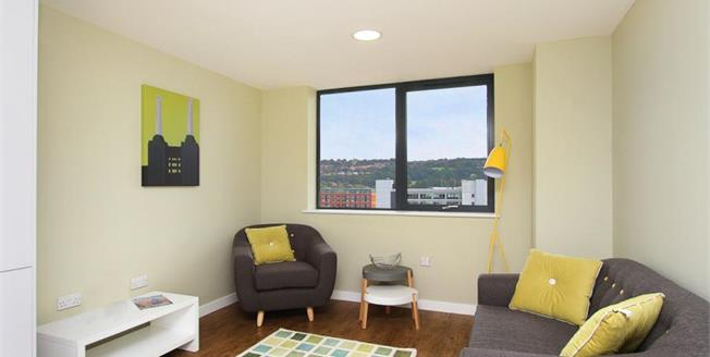£110,000, 1 Bedroom Flat For Sale in Sheffield, S1
