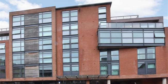 Guide Price £125,000, 2 Bedroom Upper Floor Flat For Sale in Sheffield, S1