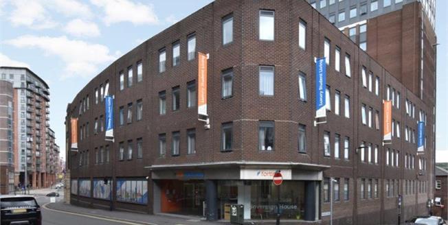 Guide Price £60,000, 1 Bedroom Upper Floor Flat For Sale in Sheffield, S1