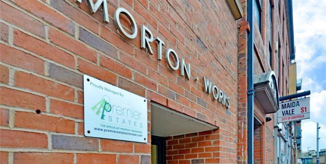 Offers Over £97,500, 1 Bedroom Upper Floor Flat For Sale in Sheffield, S1