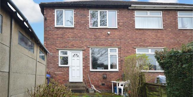 £90,000, 3 Bedroom Semi Detached House For Sale in Sheffield, S4