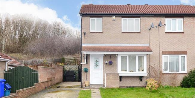 £95,000, 3 Bedroom Semi Detached House For Sale in Sheffield, S4