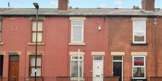 Guide Price £55,000, 2 Bedroom Terraced House For Sale in Sheffield, S4