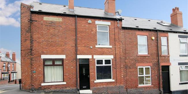 Guide Price £60,000, 3 Bedroom Terraced House For Sale in Sheffield, S5