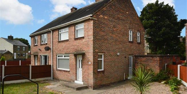 Asking Price £130,000, 3 Bedroom Semi Detached House For Sale in High Green, S35
