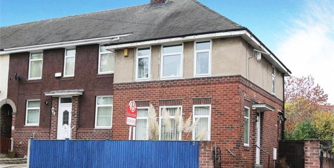Asking Price £110,000, 3 Bedroom End of Terrace House For Sale in Sheffield, S5