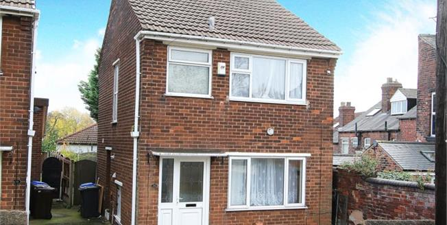 Guide Price £140,000, 3 Bedroom Detached House For Sale in Sheffield, S3