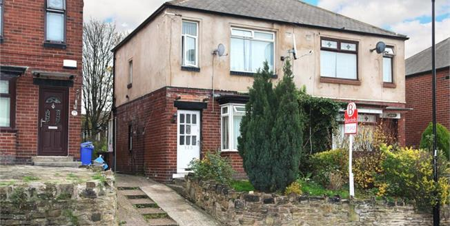 Guide Price £85,000, 2 Bedroom Semi Detached House For Sale in Sheffield, S4