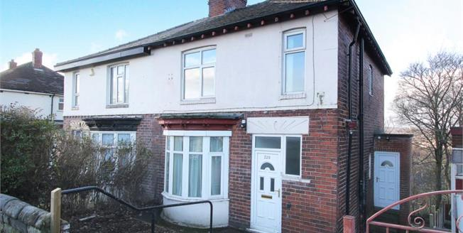 Guide Price £110,000, 3 Bedroom Semi Detached House For Sale in Sheffield, S5