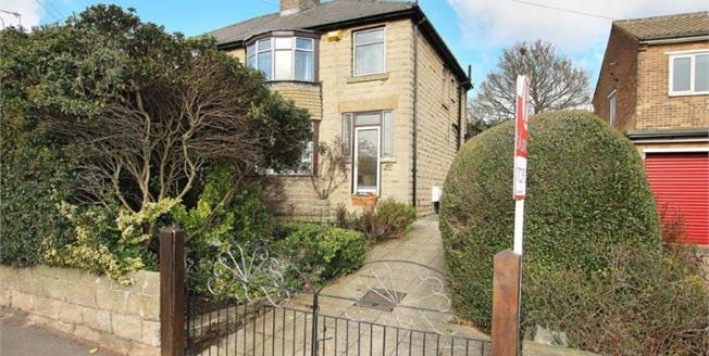 Guide Price £205,000, 3 Bedroom Semi Detached House For Sale in Chapeltown, S35