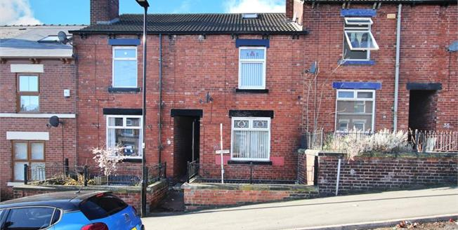 Guide Price £75,000, 2 Bedroom Terraced House For Sale in Sheffield, S9